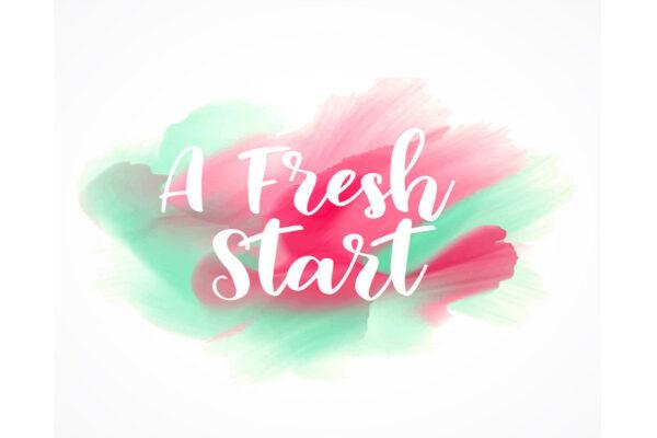 create a fresh start after divorce